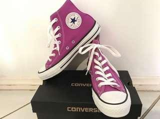 Purple High Top Converse Shoes