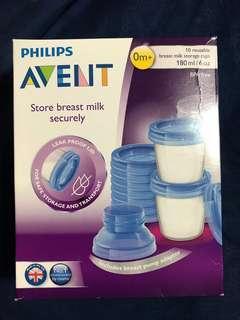 🚚 Avent Breast Milk Storage Cups