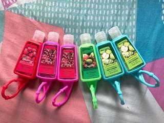 Hand sanitizer bundle 6pcs