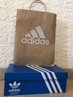 Authentic adidas shoes box for men
