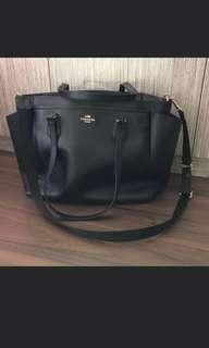 🚚 BN Authentic Coach Diaper Bag Free Coach Wallet