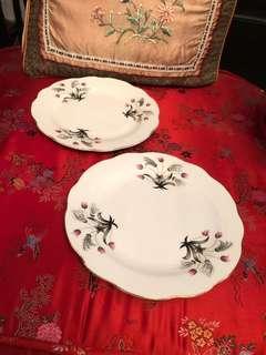 """Vintage Bunga lalang 8"""" plate"""