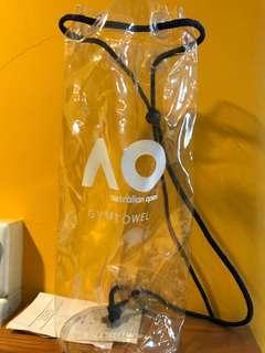 🚚 PVC Gym Towel Sling Bag