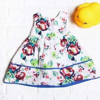 🚚 Instock - garden floral dress, baby infant toddler girl