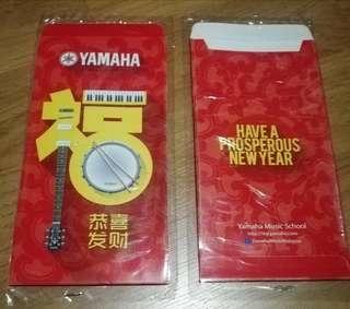 Yamaha red packet angpow