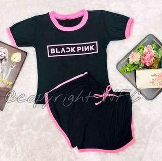 Black pink terno