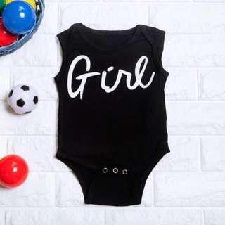 🚚 Instock - girl romper, baby infant toddler girl