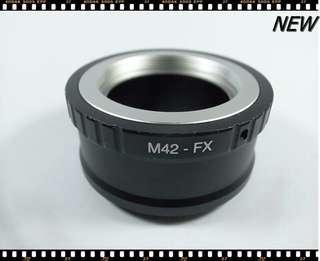 🚚 [一直攝] M42-FX 轉接環 (全新品)