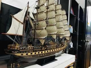 Wooden Model Ship - France II