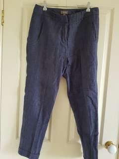 Sussan linen pants, s 10 (like new)