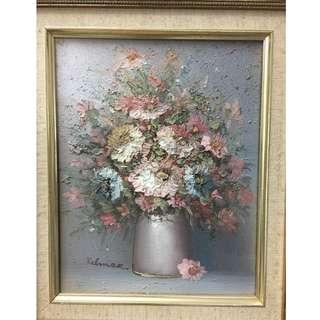 Oil Painting on Canvas - Flower