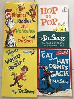 Dr Seuss assorted books