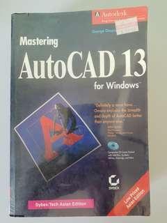 Mastering AutoCad 13 For Windows