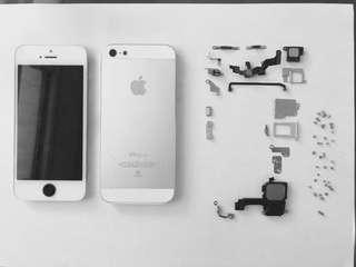 🚚 [ 蘋果 ]iPhone 5 16gb 銀白