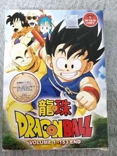 Japan Anime DVD : Dragon Ball Vol 1-153 End