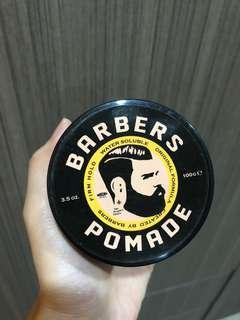 Pomade barbers