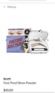 Benefit Goof Proof Brow Powder