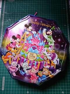 Disney cookie tin 13th anniversary edition