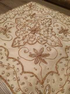Embroidered and Beaded Throw Pillow Covers (5)