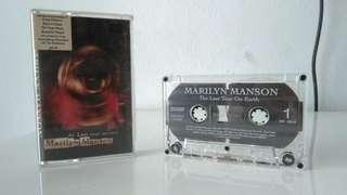 Cassette Marilyn Manson - Last Tour on Earth