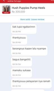 Testi ~ Another Satisfied Cust