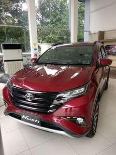 Toyota Rush 1.5 G AT th 2019