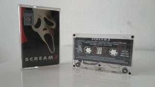 Cassette Scream 3 soundtrack