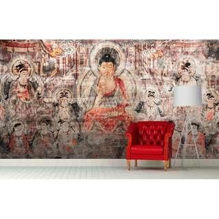 AMITABHA WALL MURAL ART