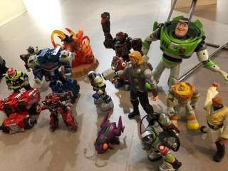 Assorted action figures for bundle ONLY