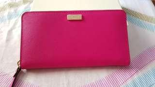 Bnew Pink AUTHENTIC Kate Spade Wallet