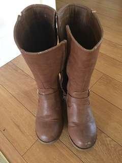 Girls high boots
