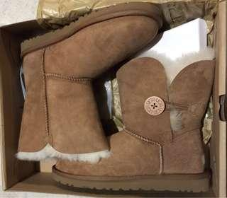 UGG BAILEY BUTTON BOOTS (NEW)