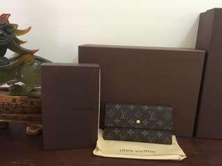 Authentic preloved LV sarah wallet