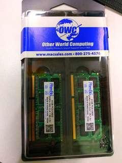 $380 1 x RamBo  DDR3-1333 8gb notebook ram