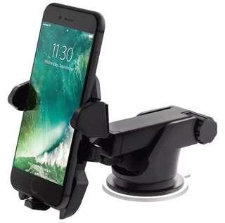 Car Mount Mobile Phone Holder (Long Neck & 360 Degrees Rotation
