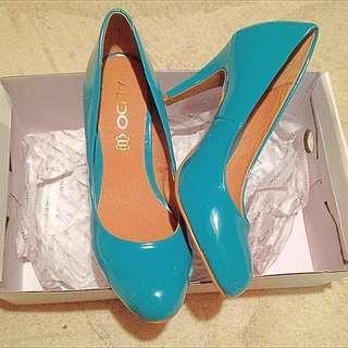 Aldo Turquoise Heels