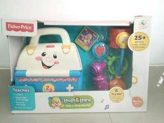Fisher price laugh&learn medical kit