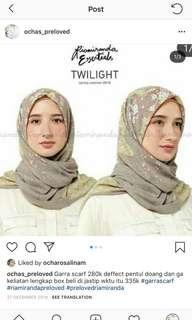 Garra scarves ria miranda