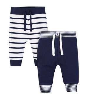 Mothercare Blue Stripe Pants