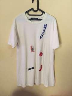 Dress white putih zara