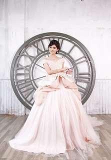 Peachy Pearl Preincess Gown