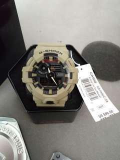 🚚 Casio G-Shock GA-700UC-5A utitlity pack kHaki