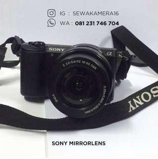 Jasa sewa rental kamera mirrorless 081231746704