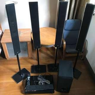 LG HT965TZ Home Theater System