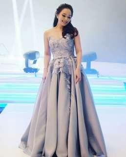 Silver Swan Gown