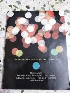 Curriculum: Foundations, principles and issues by Allan C. Ornstein