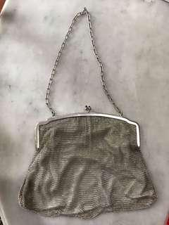 1920s Peranakan Silver Bag with Full Lining