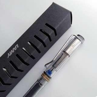Lamy Vista Fountain Pen Demonstrator - Brand New - CURRENTLY SOLD OUT