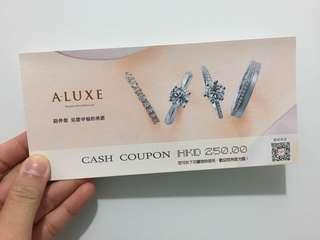 A-LUXE Coupon $250