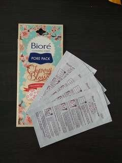 Biore Cleansing Strips Pore Pack Cherry Blossom